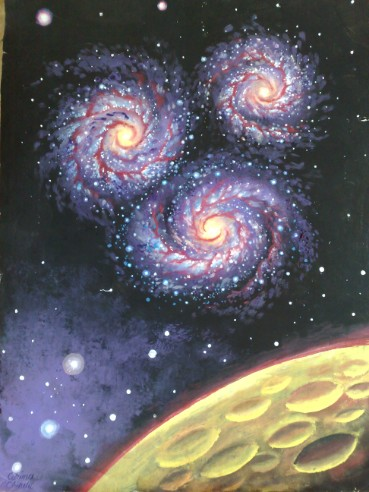 Some Galaxy Paintings